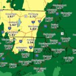 UPDATE: Up to 2 Inches of Rain to Fall Overnight in Worcester