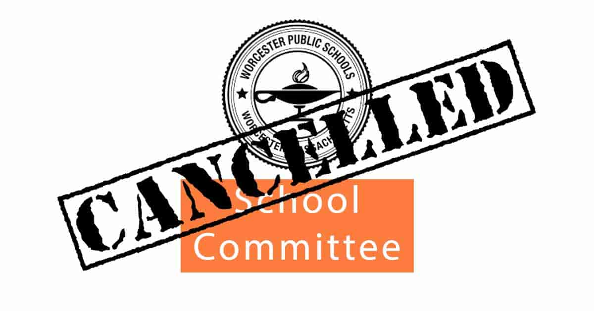 School Committee Forced To Meet On Single Issue Tonight 1