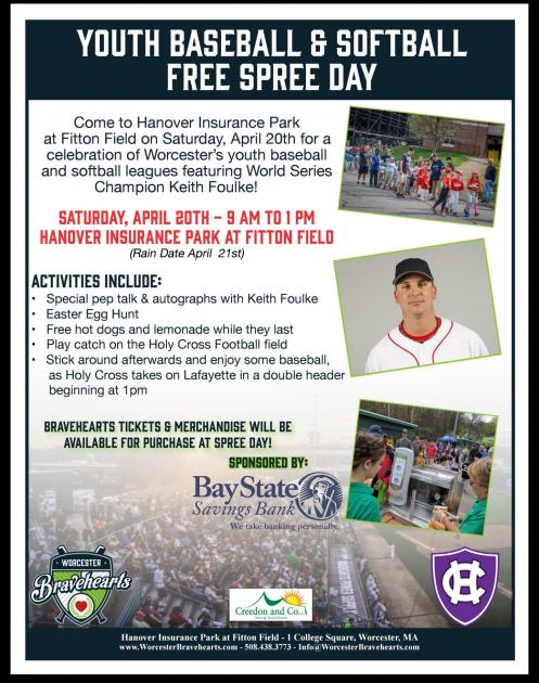 Worcester Bravehearts to Host Free Spree Day with Former Red Sox Champ Keith Foulke 1