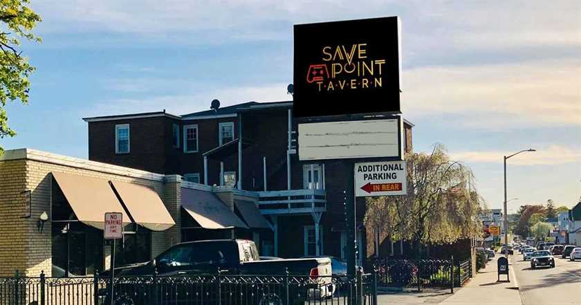 Save Point Tavern Video Game Bar Coming to Highland St. in Worcester