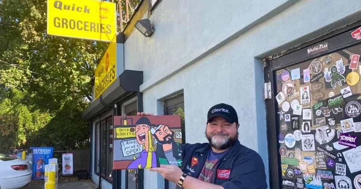 'Clerks' Movie Inspires Artwork of Worcester's Glenn Ferraro